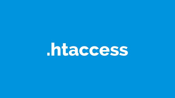 Como crear htaccess